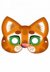 Маска кошки своими руками. Делаем с детьми маску кошки. Маска Кошки