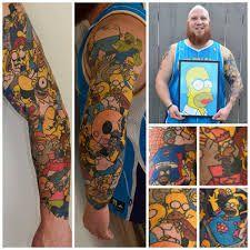tattoo bart simpson - Buscar con Google