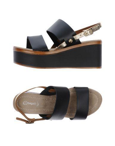 b09497f6a803 BAGATT Women s Sandals Black 8 US