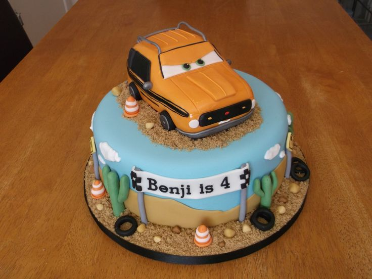 Grem from Cars Birthday cake x www.facebook.com/fireflycakes