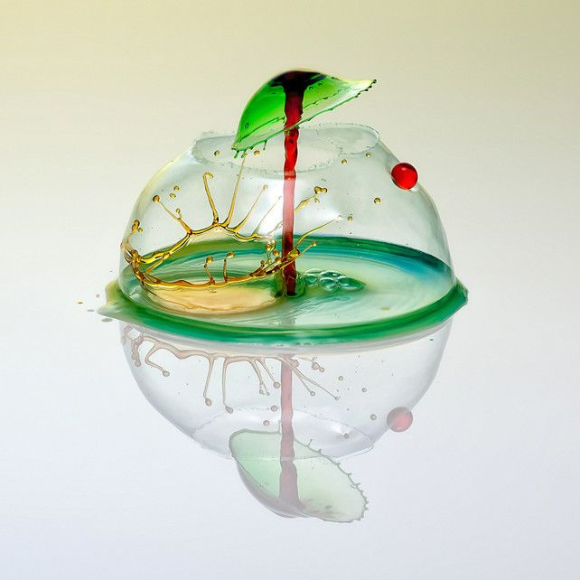 High-Speed Photography | Water Drops Into transform into Liquid Sculptures