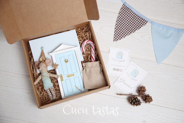 Caja de regalo personalizado del Hada de los dientes. Fairy tooth.