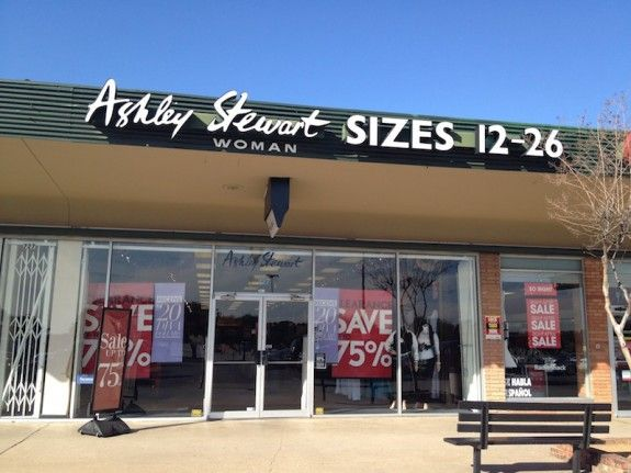 Plus Size Retailer Ashley Stewart Files Chapter 11 Bankruptcy, Closes