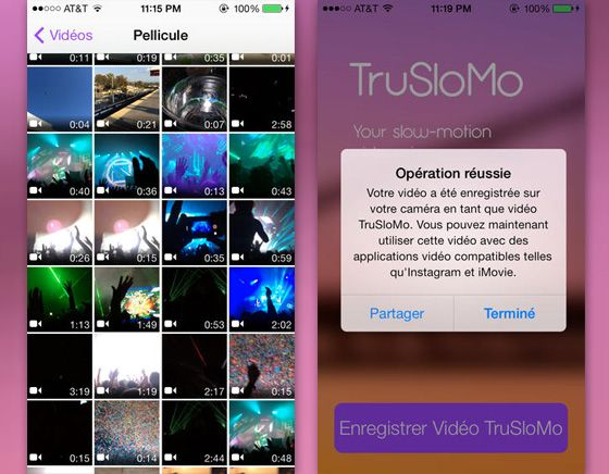 Create shareable slow-motion videos with TruSloMo compatible with video-enabled apps like Instagram, Imovie, Facebook l #iphone5S #slowmotion