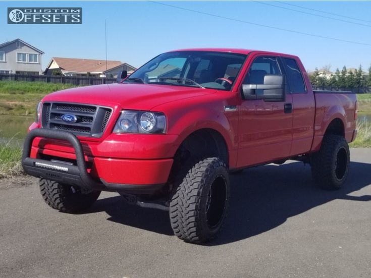2006 Ford F 150 Vision Rage Rough Country Suspension Lift 6in