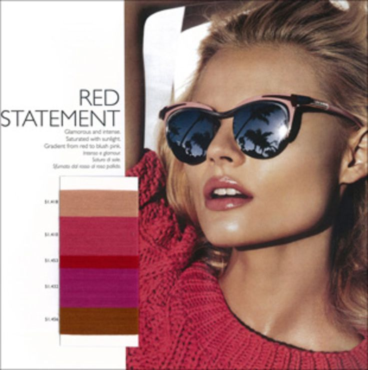 S/S 2014 Colour Trends - Red Statement