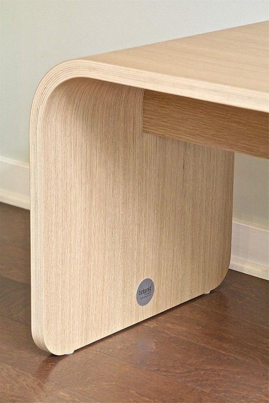 Minimalist Bench. It's a dream