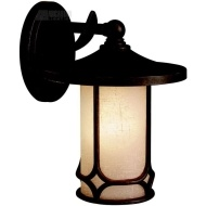 Kichler Lighting Chicago Arts and Crafts/Mission Transitional Outdoor Wall Sconce - KCH-9365-AGZ