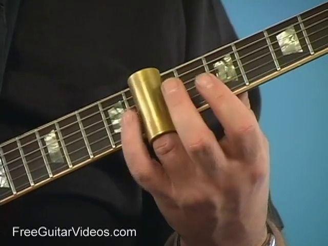 Slide Guitar Lessons Site (Not Youtube)