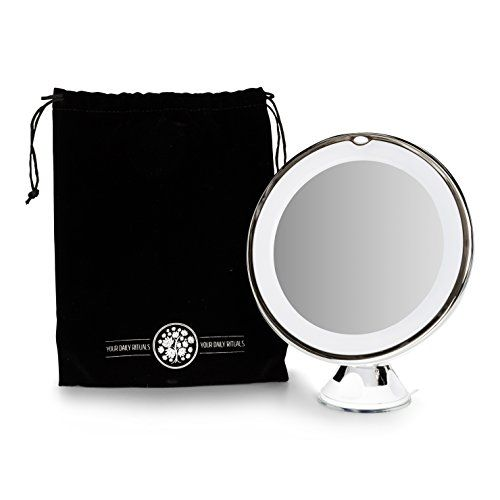 Best 10x Magnifying Makeup Mirror With Led Light 360