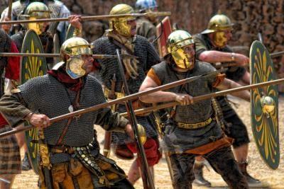 Auxilia waren simpele Romeinse soldaten.