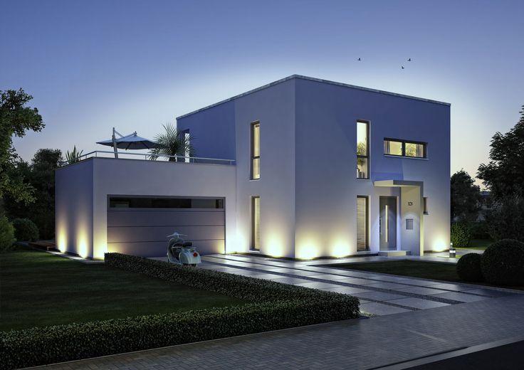 Schlüsselfertiges Massivhaus Spektralhaus: Kern Haus, Bauhausstil Haus Und Haus