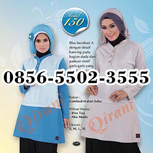 Alamat Qirani Busana Muslim, HP.0856-5502-3555