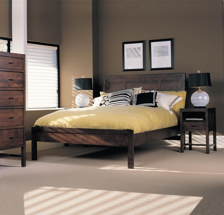 The casual contemporary style of the Soma collection adds a clean sophistication to the room.