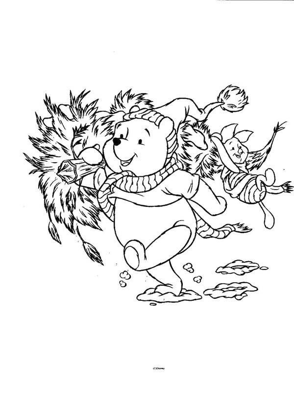 Disegni Da Colorare Winnie Pooh Natale.50 Disegni Di Winnie The Pooh Da Colorare Pagine Da Colorare Disney Winnie The Pooh Colori Di Natale