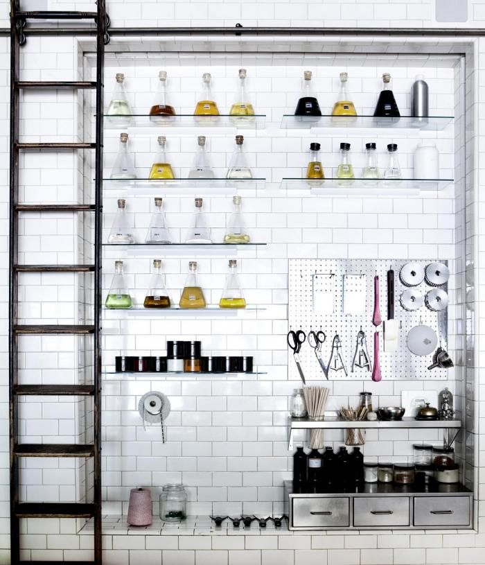 Papabubble Library Ladder in Store, Remodelista