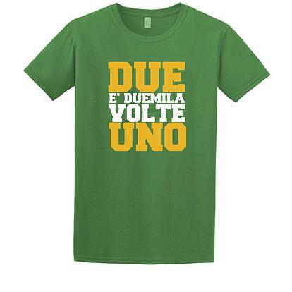 """Stampa T-Shirt Bambino #chesterton #frassati #distributismo """"Due è duemila volte uno"""" cit. GKC"""