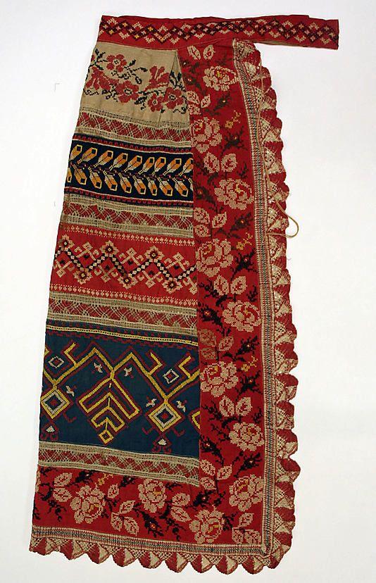 Russian apron