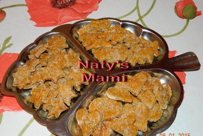 Retete Culinare - Biscuiti cu fructe pentru bebelusi