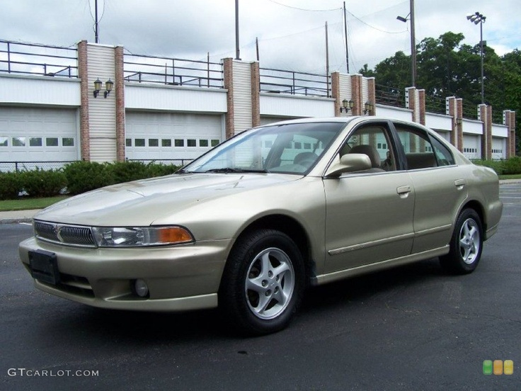 2001 Galant ES - Banyon Bay Beige / Tan -- my son now has this vehicle and it's still a reliable car