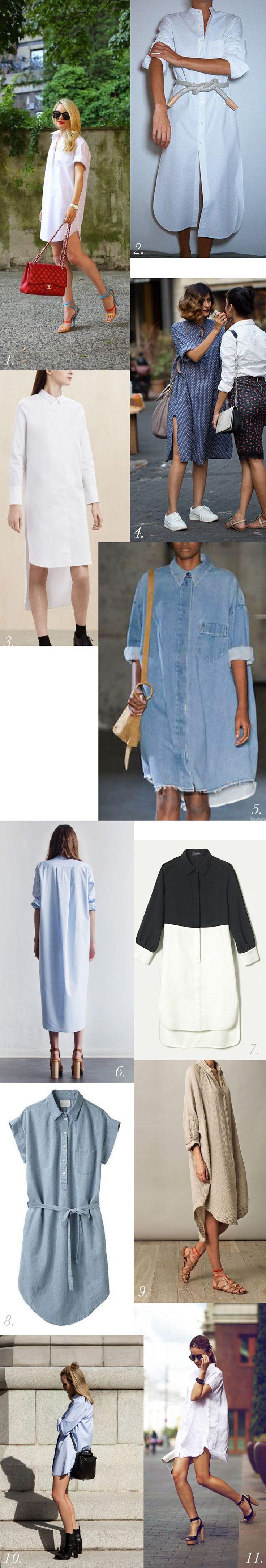 Shirtdress Inspiration & Styling // Kalle Sewalong https://closetcasepatterns.com/shirtdress-inspiration-styling-kalle-sewalong/