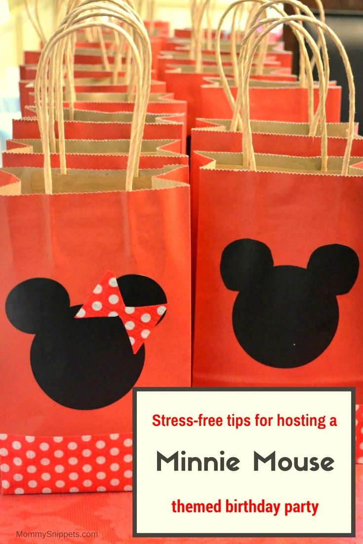 Stress-free tips for hosting a Minnie Mouse themed birthday party- Mommy Snippets
