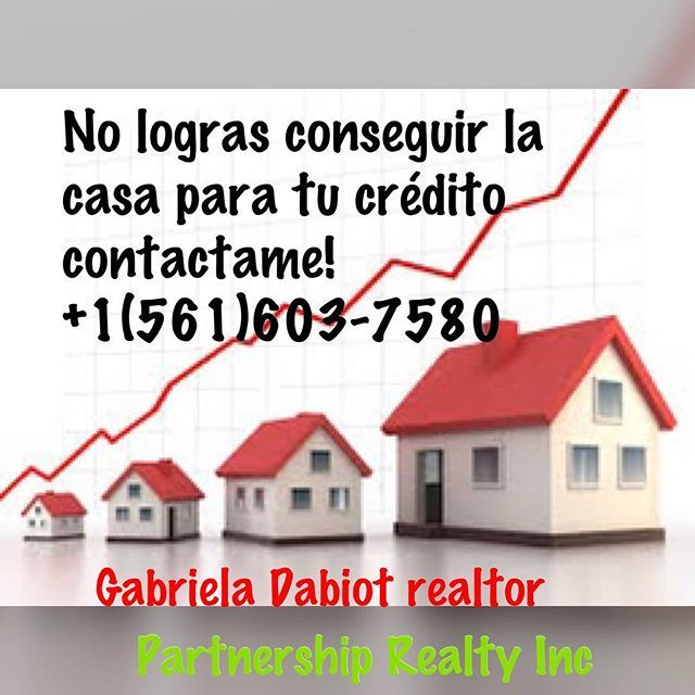 As your agent I focus on giving you the real estate  experience ever customer sastifaction is my goal.  I'm specialized on Residential Rents & Commercial available anywhere within the West Palm Beach #gabrieladabiotrealtor#partnershiprealty#realtor#realtorlifestyle#buy#sell#rent#venezolanoswestpalmbeach#westpalmbeach#investing#investor#florida#realestate#selling#buyhomes#venezuela#colombia#peru#brazil#argentina#ecuador#chile#panama#peru#canada#barcelona#madrid#australia#florida#doral…