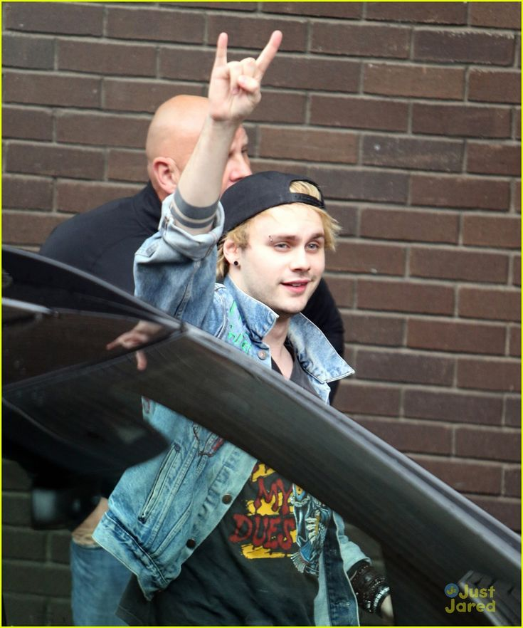 5 Seconds Of Summer Unveil New Track Titles On Twitter - See Them Here!: Photo #876382. Calum Hood and Ashton Irwin head out of the ITV Studios in London, England on Wednesday afternoon (October 6).    The 5 Seconds of Summer band mates, alone with…