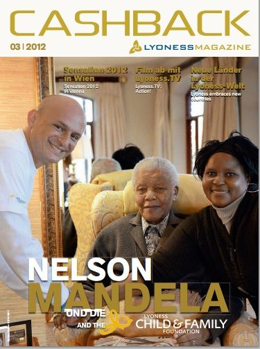 CashBack Magazine..with Nelson Mandela;  Join my Golden Team Today: www.mylyconet.com/iboiya/