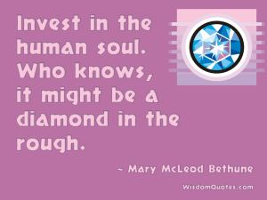 16 Great Quotes From African American Women: Mary McLeod Bethune Quote