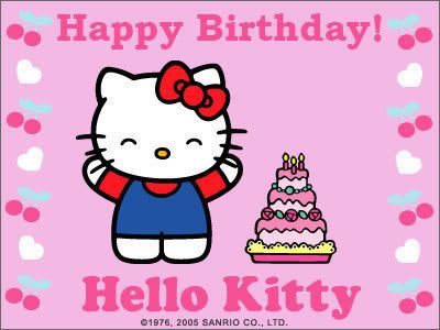99 best images about hk birthday on pinterest wine birthday birthday party invitations and - Hello kitty birthday images ...