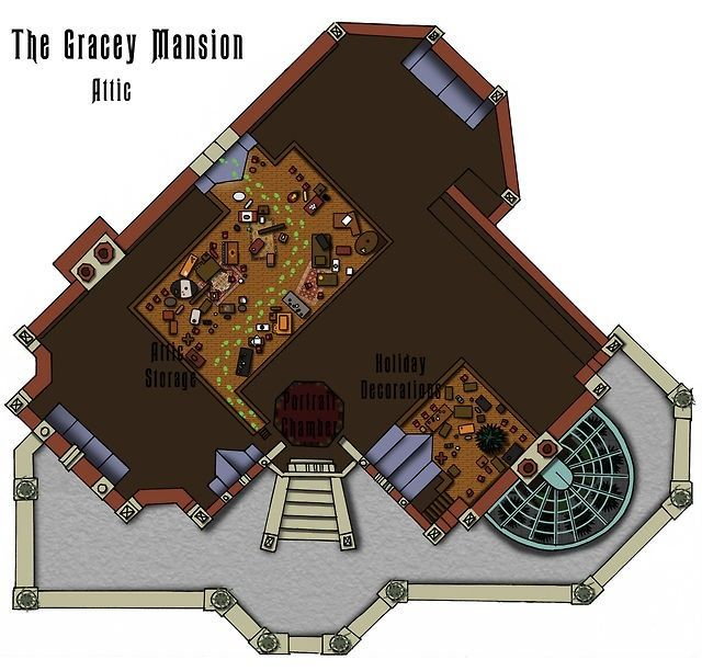 Haunted Mansion Floorplan Disney Pinterest Mansions
