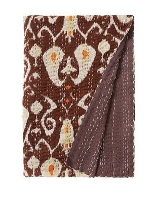 51% OFF Paisley Bed Cover (Brown/Yellow/White)