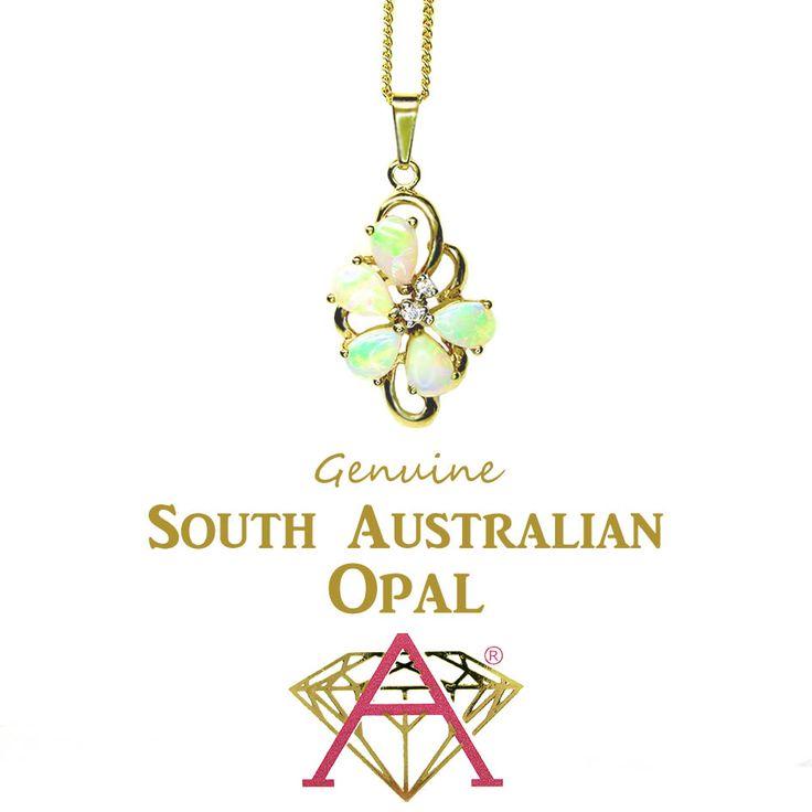 Decorative Australian Opal Pendant.