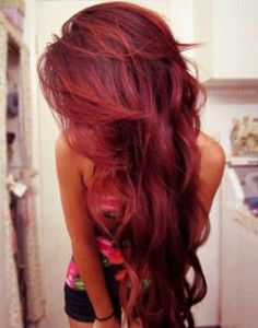 Incredible 1000 Images About Red Hairstyles On Pinterest Dark Red Hair Short Hairstyles Gunalazisus
