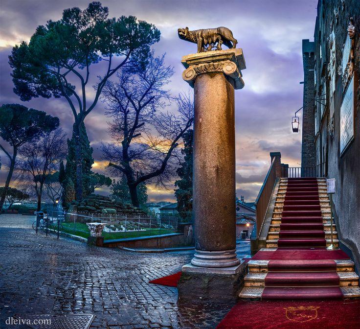 """Capitoline Hill (Rome, Italy) - <a href=""""http://dleiva.com/"""" rel=""""nofollow"""">dleiva.com/</a>"""