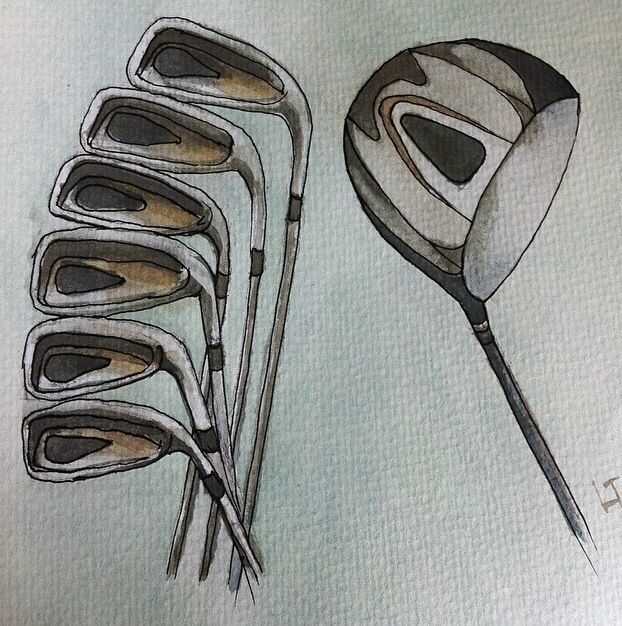 Golf clubs finished
