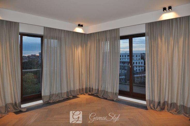 dekoracja okien, tkaniny zasłonowe, dekoracje okienne warszawa