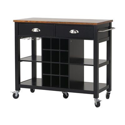 Counter Height Microwave Cart : ... on Pinterest Microwave cart, Kitchen island cart and Mobile storage