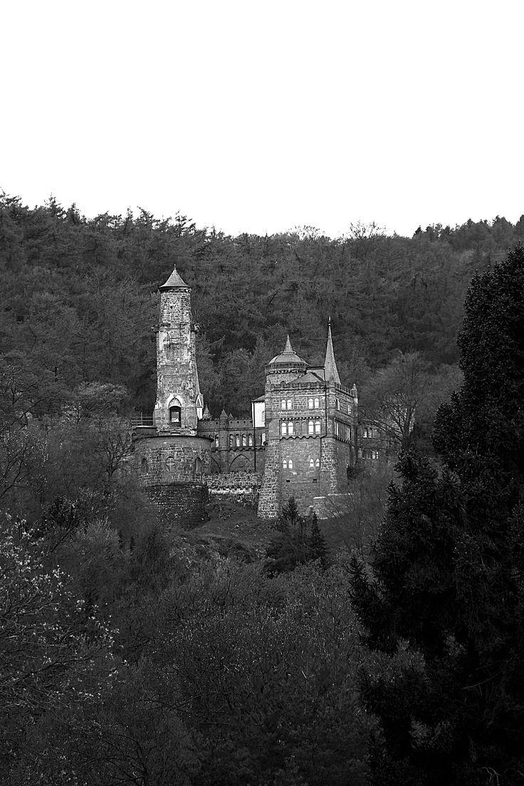 Die Löwenburg Bergpark Wilhelmshöhe Kassel - Germany