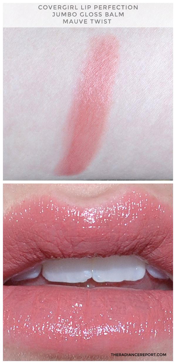 Covergirl Lip Perfection Jumbo Gloss Balm in Mauve Twist: Review and Swatches - The Radiance Report