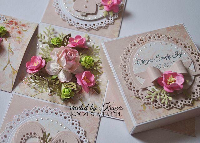 Craft and You Design: Exploding box dla dziewczynki/An exploding box for...