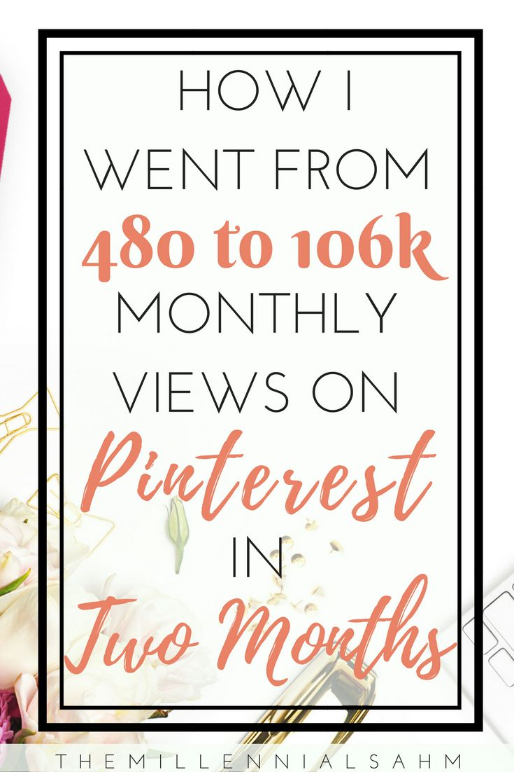 Y'all, I think I may actually be getting the hang of this Pinterest thing. If you're struggling with Pinterest like I was and you want to increase your monthly viewers, keep reading to see the exact steps that I took to make that happen.   Increase Blog Traffic, Pinterest Tips and Tricks, Content Marketing, Social Media Marketing
