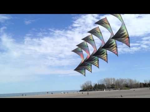 Who would have thought a kite and song could be so mesmerizing...