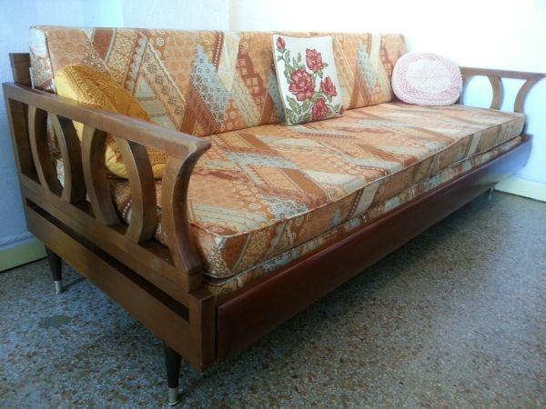Tampa: Vintage Retro Trundle Daybed Sofa $375   Http://furnishlyst.com
