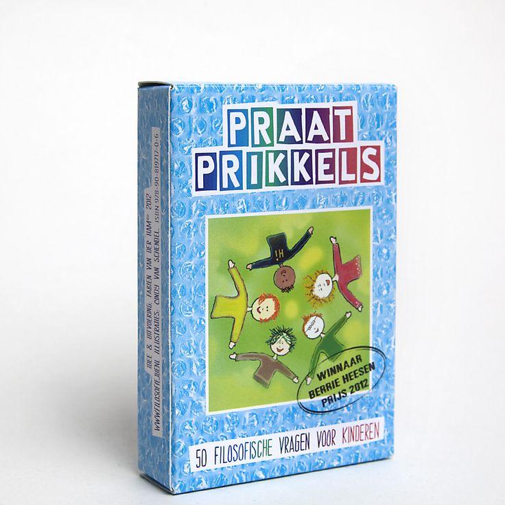 Praatprikkels – 50 filosofische vragen voor kinderen