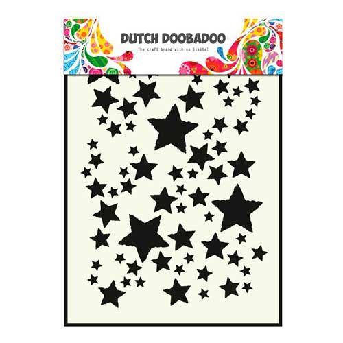 Dutch Doobadoo Mask - Stars