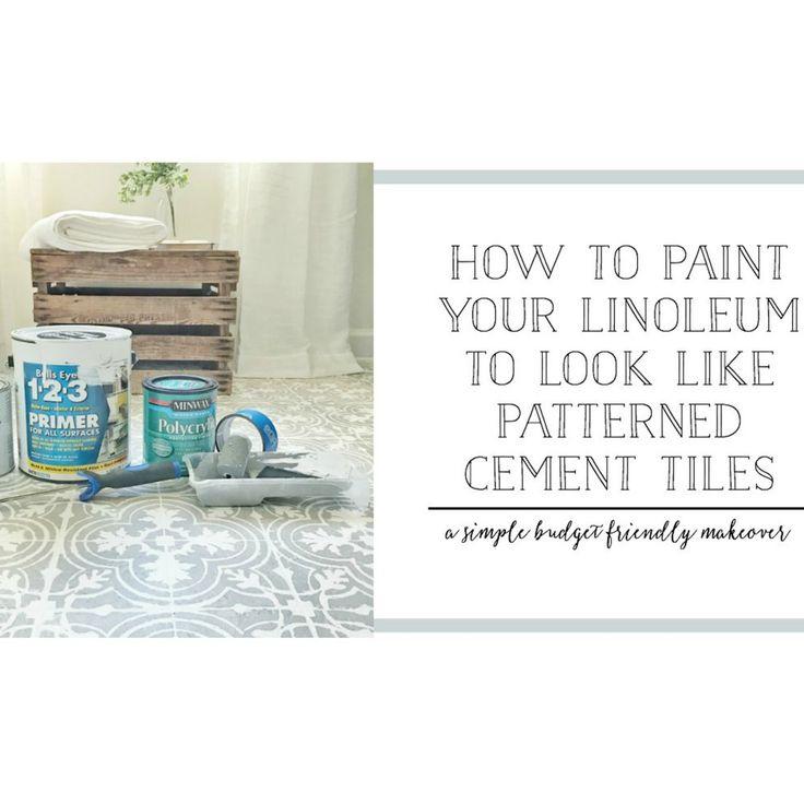 1000 Ideas About Linoleum Flooring On Pinterest