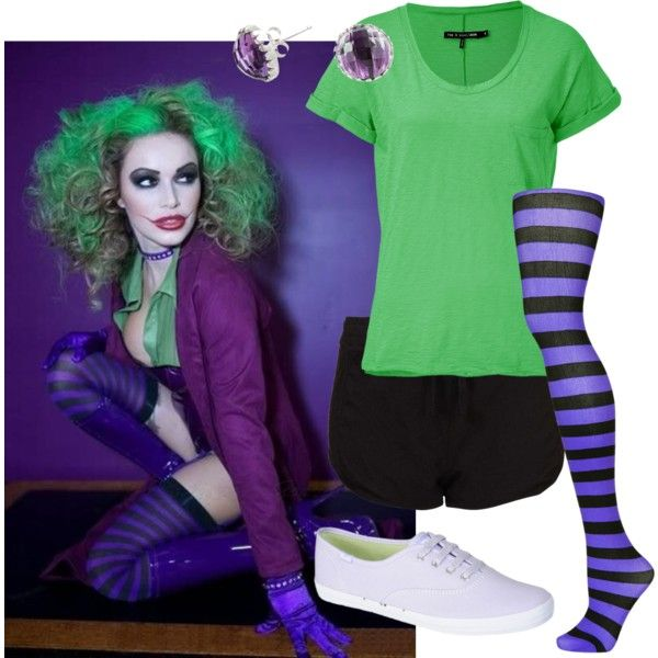 diy joker costume for poor college students - Joker Halloween Costume Kids