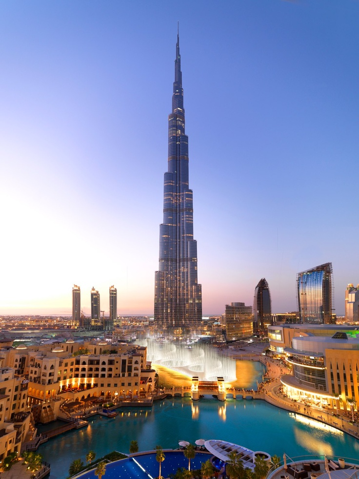 Burj Khalifa and Dubai Mall  #popular #dubai #sheikh #travel #arabs #uae